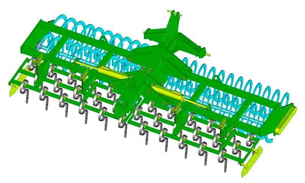 Bisynchrospire Franquet - Vue 3D